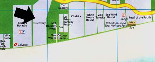 map for discovery shores
